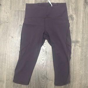 lululemon athletica Pants - NWOT Lululemon Train Times crop legging